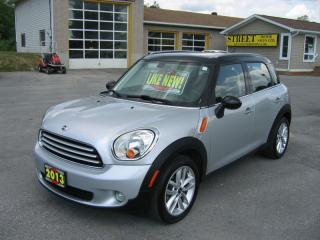Used 2013 MINI Cooper COUNTRYMAN*ROOF*AUTO*LEATHER for sale in Smiths Falls, ON