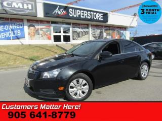 Used 2014 Chevrolet Cruze 1LT  MANUAL ROOF S/W-AUDIO BT PWR-GROUP for sale in St Catharines, ON