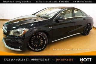 Used 2015 Mercedes-Benz CLA-Class CLA45 AMG 4MATIC Nav Pano Roof for sale in Winnipeg, MB