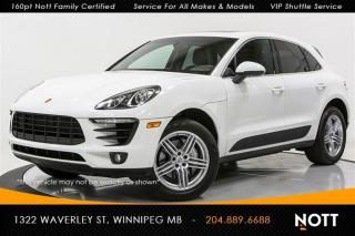 Used 2015 Porsche Macan S V6 Turbo Nav 1 Owner Pano Ro for sale in Winnipeg, MB