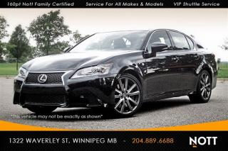 Used 2015 Lexus GS 350 AWD Nav Backup Cam Moon Roof H for sale in Winnipeg, MB
