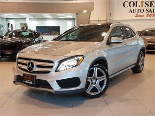 Used 2015 Mercedes-Benz GLA-Class GLA250 4MATIC-NAVI-CAMERA-PANO ROOF-LOADED for sale in York, ON