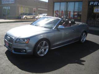 Used 2010 Audi S5 3.0 Premium  Technik B&O Sound Navigation for sale in North York, ON