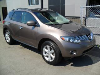 Used 2010 Nissan Murano 4x4 SL FULL AA-1 + GARANTIE 3 ans INCLUS for sale in Laval, QC