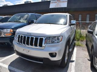 Used 2011 Jeep Grand Cherokee Limited NAVIGATION, PANORAMIC SUNROOF, ONLY 67,000 for sale in Concord, ON