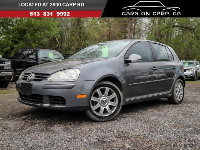 2007 Volkswagen Rabbit 4 Door Hatchback / Sunroof