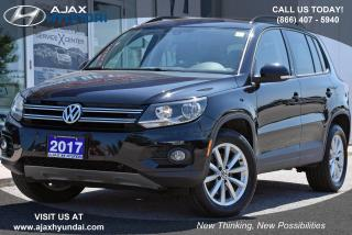 Used 2017 Volkswagen Tiguan Wolfsburg Edition for sale in Ajax, ON