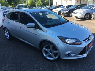 Used 2013 Ford Focus TITANIUM/ AUTO/ NAVI/ REVERSE CAM/ ALLOYS & MORE! for sale in Scarborough, ON