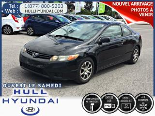 Used 2007 Honda Civic Dx-G, Coupe for sale in Gatineau, QC