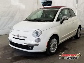Used 2012 Fiat 500 C Convertible Gucci for sale in Trois-rivieres, QC