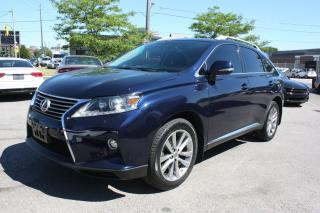 Used 2015 Lexus RX 350 LUXURY PACKAGE NAVI ROOF BLINDSPOT  for sale in North York, ON