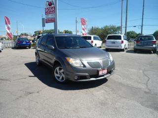 Used 2005 Pontiac Vibe AUTO 5 DR NO ACCIDENT PW PL PM ALLOY A/C for sale in Oakville, ON