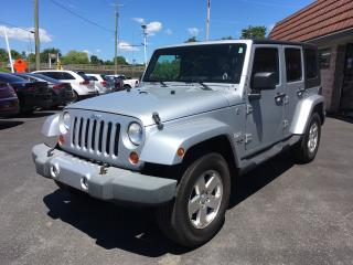Used 2009 Jeep Wrangler Sahara for sale in Cobourg, ON