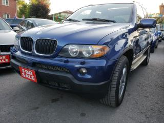 Used 2006 BMW X5 Low Mileage/AWD/Leather/Roof/Alloys/Must Seen for sale in Scarborough, ON
