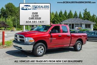 Used 2011 Dodge Ram 1500 4x4 Quad Cab, V8, Local, No Accidents! for sale in Surrey, BC
