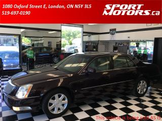 Used 2007 Cadillac DTS Heated & Cooled Leather Seats+Sensors+Remote Start for sale in London, ON