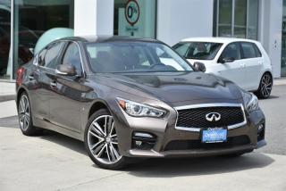 Used 2014 Infiniti Q50 AWD Sport Premium for sale in Burnaby, BC