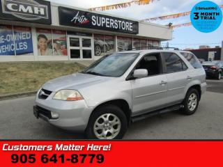 Used 2003 Acura MDX 3.5  AS IS (UNCERTIFIED) AS TRADED IN for sale in St Catharines, ON