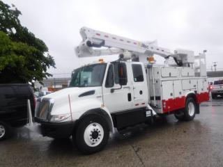 Used 2008 International 4300 Durastar Diesel TA45M-T50 Bucket Truck Air Brakes for sale in Burnaby, BC