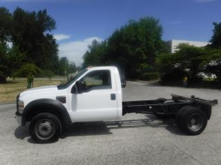 Used 2008 Ford F-550 Diesel Regular Cab 2WD DRW 165 inch wheel Base for sale in Burnaby, BC