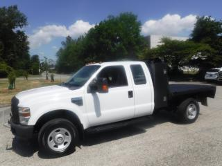 Used 2009 Ford F-350 SD XLT SuperCab 8 Foot Flat Deck 4WD for sale in Burnaby, BC