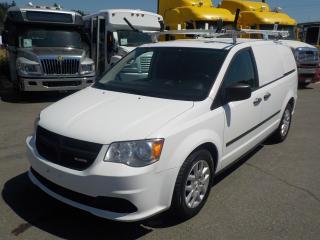 Used 2014 Dodge Caravan Cargo Van with Shelving & Ladder Rack for sale in Burnaby, BC