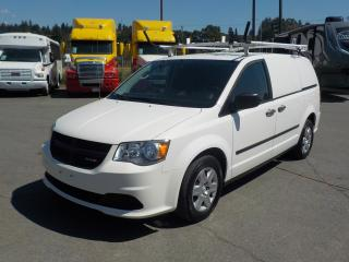 Used 2012 Dodge Grand Caravan Cargo Van with Shelving & Ladder Rack for sale in Burnaby, BC