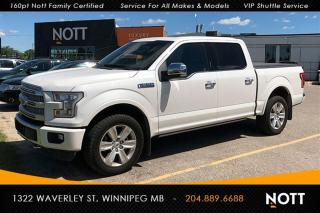 Used 2016 Ford F-150 Platinum Supercrew 5.0L V8 Pan for sale in Winnipeg, MB