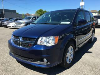 Used 2017 Dodge Grand Caravan CREW PLUS *CUIR*DVD*GPS*PORTES ÉLEC* for sale in Brossard, QC