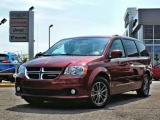 Used 2017 Dodge Grand Caravan SXT PREMIUM *DVD*GPS*PORTES ÉLEC* for sale in Brossard, QC