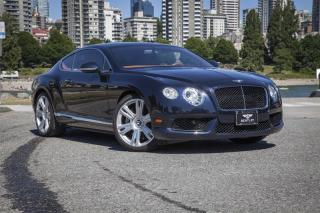 Used 2013 Bentley Continental GT V8 *Bentley Certified Pre-Owned! for sale in Vancouver, BC
