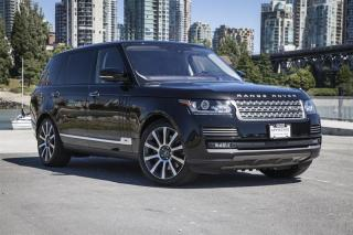 Used 2017 Land Rover Range Rover V8 Autobiography Supercharged LWB *Certified Pre-Owned! for sale in Vancouver, BC