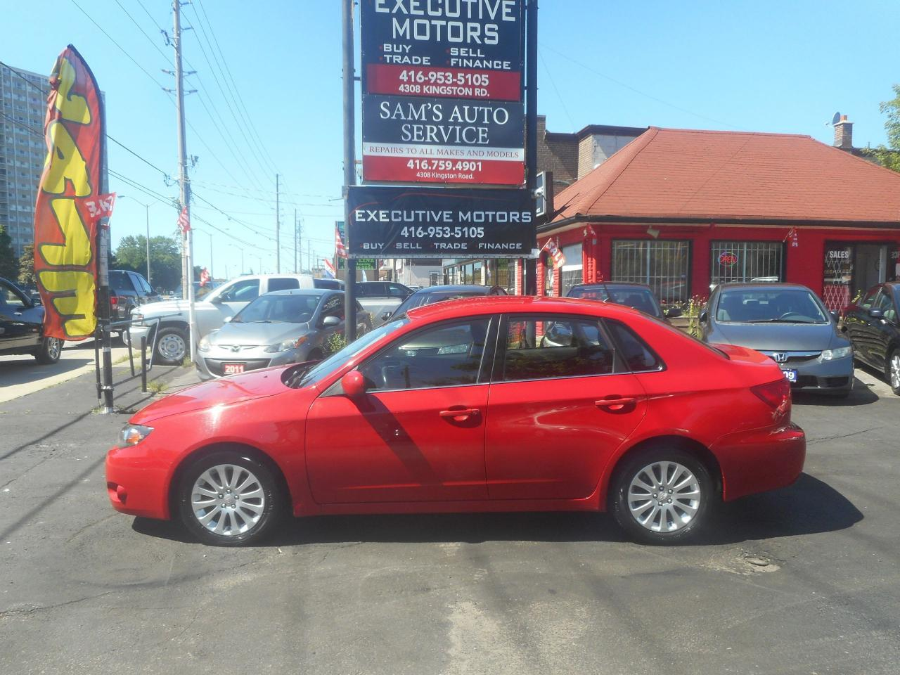 2008 Subaru Impreza 2.5i / AWD / ALLOYS / HEATED SEATS / LIKE NEW /
