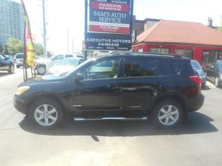 Used 2006 Toyota RAV4 LIMITED / 4WD / SUNROOF / ALLOYS / A/C / MINT 4CYL for sale in Scarborough, ON