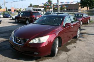 Used 2008 Lexus ES 350 W/BACKUP CAMERA for sale in Ottawa, ON