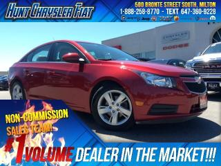 Used 2014 Chevrolet Cruze 2.0 DIESEL/AUTO/LEATHER/ALLOYS/HTD STS/BT & MORE!! for sale in Milton, ON