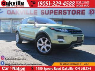 Used 2012 Land Rover Evoque Pure Plus | LEATHER | NAVI | PANOROOF | LOW KM for sale in Oakville, ON