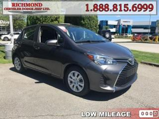 Used 2016 Toyota Yaris for sale in Richmond, BC