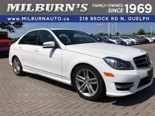 Used 2014 Mercedes-Benz C-Class 4matic for sale in Guelph, ON