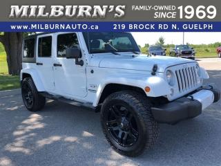Used 2016 Jeep Wrangler Unlimited Sahara for sale in Guelph, ON