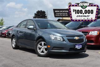 Used 2012 Chevrolet Cruze LT - Cruise, trailer hitch, GPS, bluetooth, sat ra for sale in London, ON