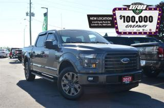 Used 2017 Ford F-150 XLT - 5.0L V8, 4x4, trailer hitch, bluetooth, back for sale in London, ON