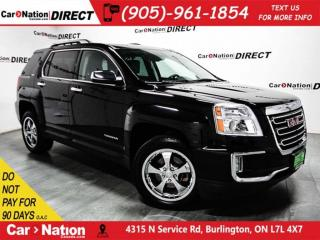 Used 2016 GMC Terrain SLT| LEATHER| BACK UP CAMERA| AWD| for sale in Burlington, ON