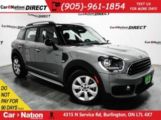 Used 2018 MINI Cooper Countryman Cooper| AWD| LEATHER| DUAL SUNROOF| LOW KM'S| for sale in Burlington, ON