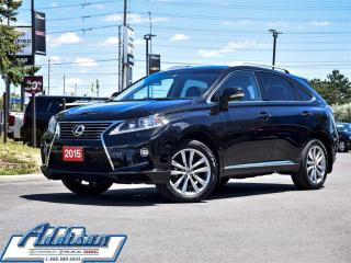 Used 2015 Lexus RX 350 - for sale in Mississauga, ON
