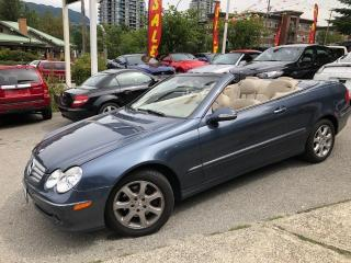 Used 2004 Mercedes-Benz CLK 320 for sale in Port Moody, BC
