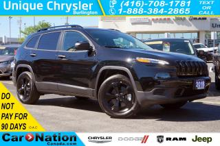 Used 2018 Jeep Cherokee SPORT| ALTITUDE| 4X4| COLD WEATHER GRP| REAR CAM for sale in Burlington, ON