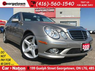 Used 2009 Mercedes-Benz E-Class 350 | NAVI | AMG WHEELS | AWD| LEATHER| ROOF for sale in Georgetown, ON