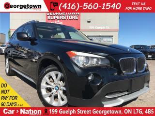 Used 2012 BMW X1 xDrive28i | NAVI | PANO ROOF | AWD | HARMON/KARDON for sale in Georgetown, ON