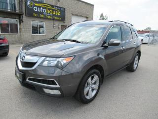 Used 2011 Acura MDX Technology Package TEK PKG,NAVI,LEATHER,SUNROOFBACKUP CAMERA for sale in Newmarket, ON